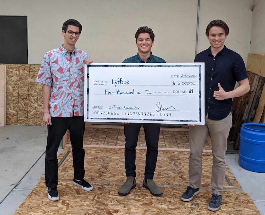 Bibble Team - eTrack Accelerator Winners