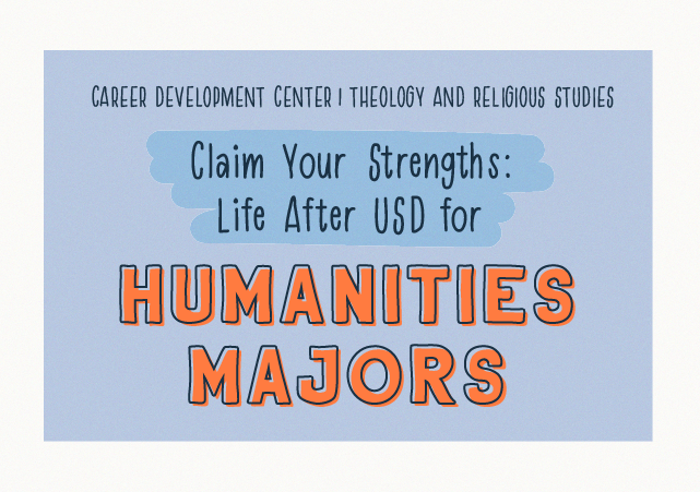 Claim Your Strengths: Life After USD for Humanities Majors icon