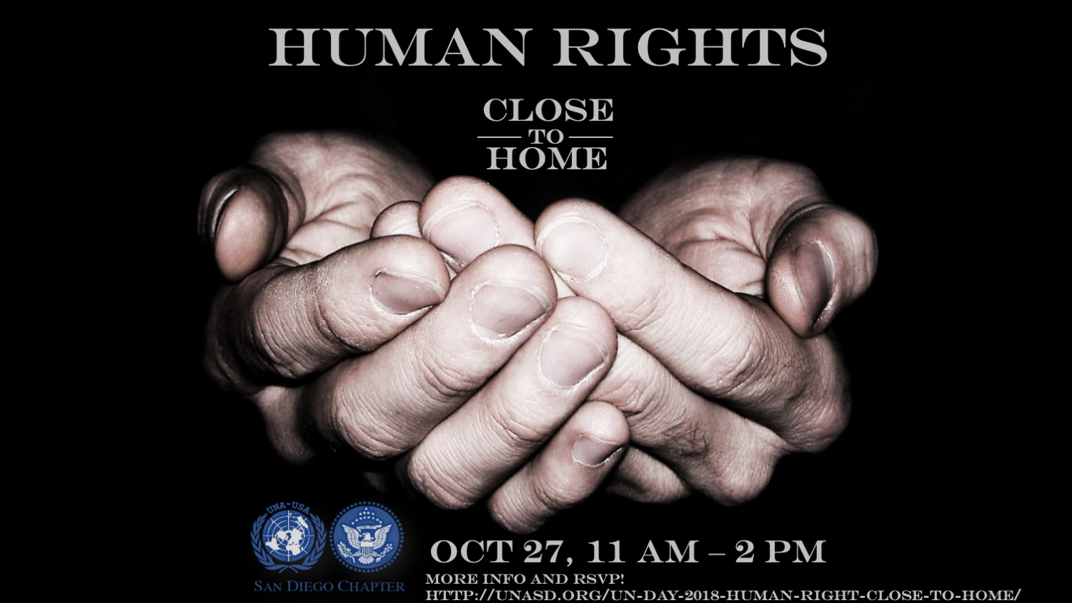 UNA-USA San Diego, Human Rights: Close to Home