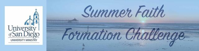 Summer faith formation challenge header