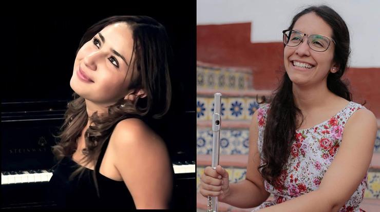 Gema Garcia Grijalva and Teresa Diaz de Cossio
