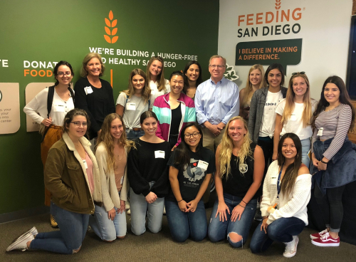SOLES Students at Feed San Diego