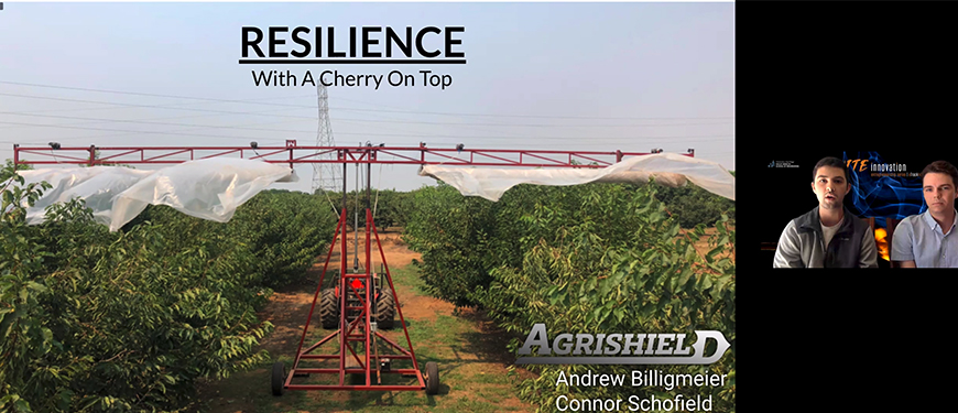 Andrew Billigmeier and Connor Schofield, Agrishield LLC