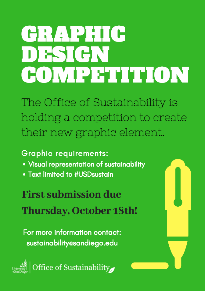 Graphic Design Competition: Office of Sustainability