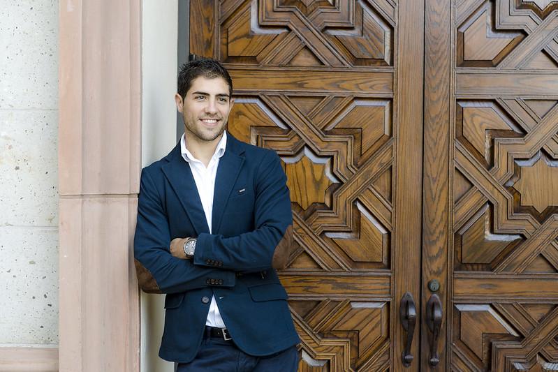 USD School of Business MBA alumnus, David Jimenez Burgos