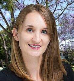 Amy Buchmann, PhD smiling