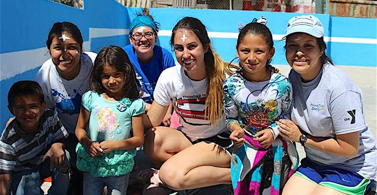University Ministry's annual Tijuana Spring Breakthrough is an opportunity for students to fully immerse themselves into a small community with