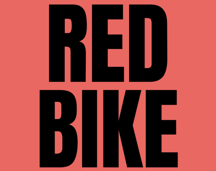 The words Red Bike