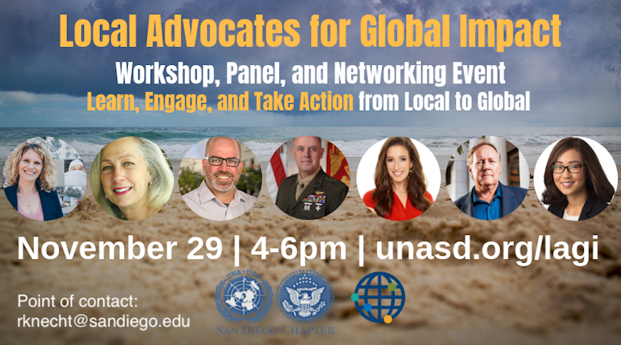 Local Advocates for Global Impact