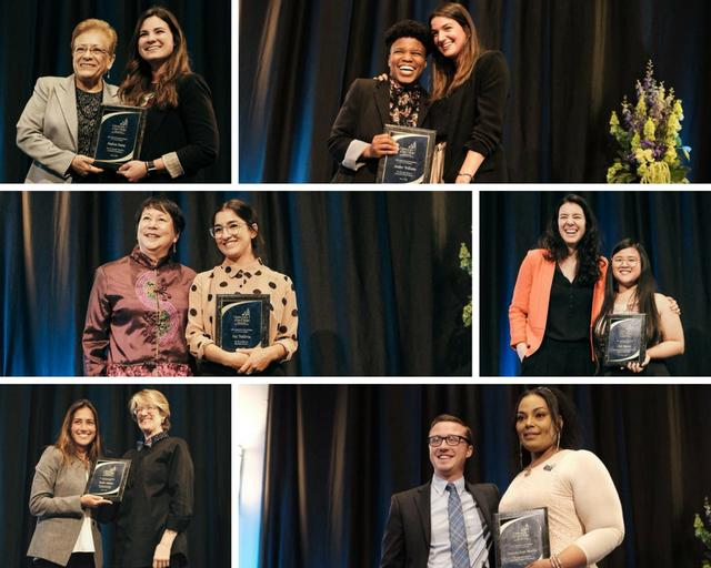Photos of the awards winners