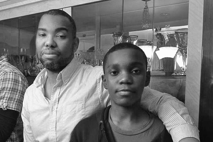 Ta-Nehisi Coates with his son