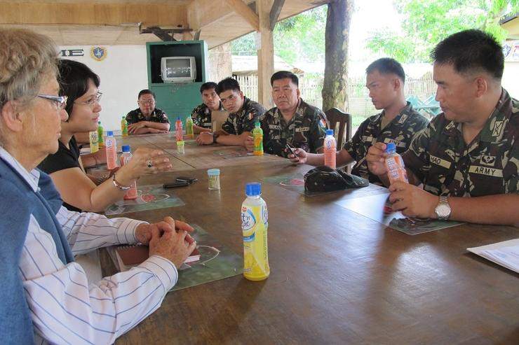 WPM Mary Ann Arnado meeting with the Armed Forces of the Philippines