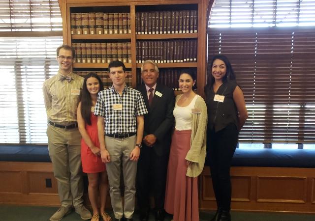 Dean Stephen C. Ferruolo and CEB Award Recipients