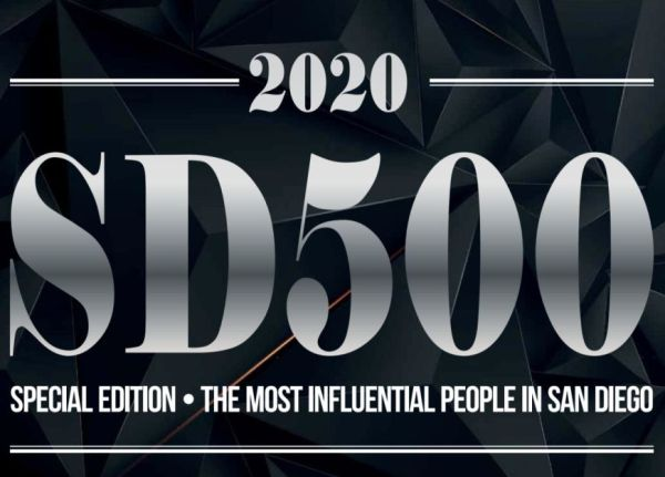 Photo is of the San Diego Business Journal SD500
