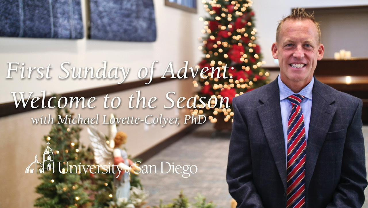Opening Advent message from MLC
