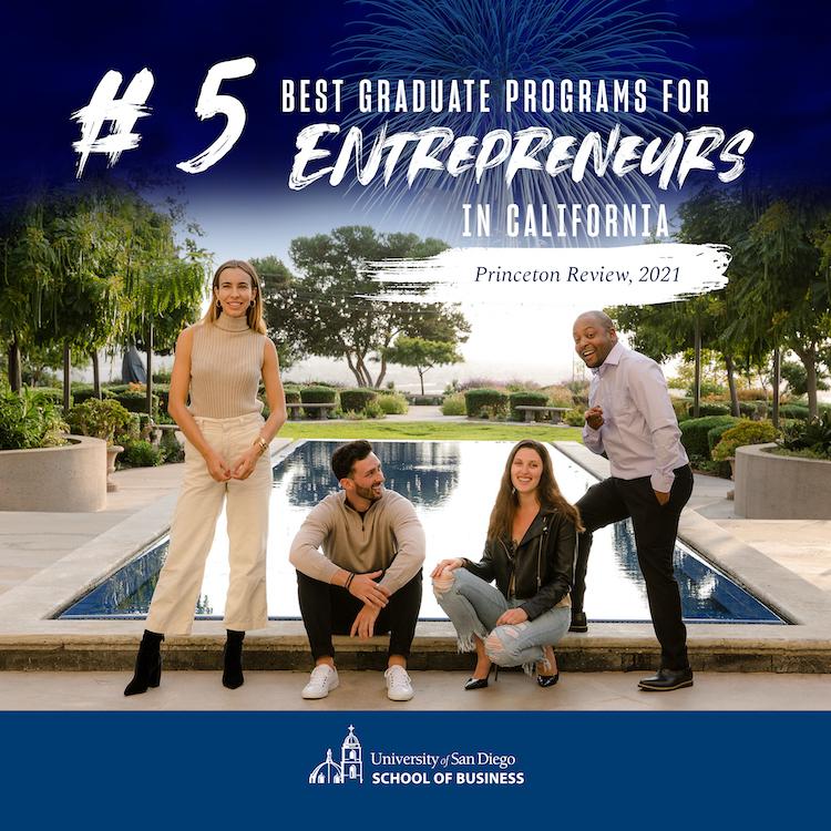 #5 Best Graduate Programs for Entrepreneurs in California