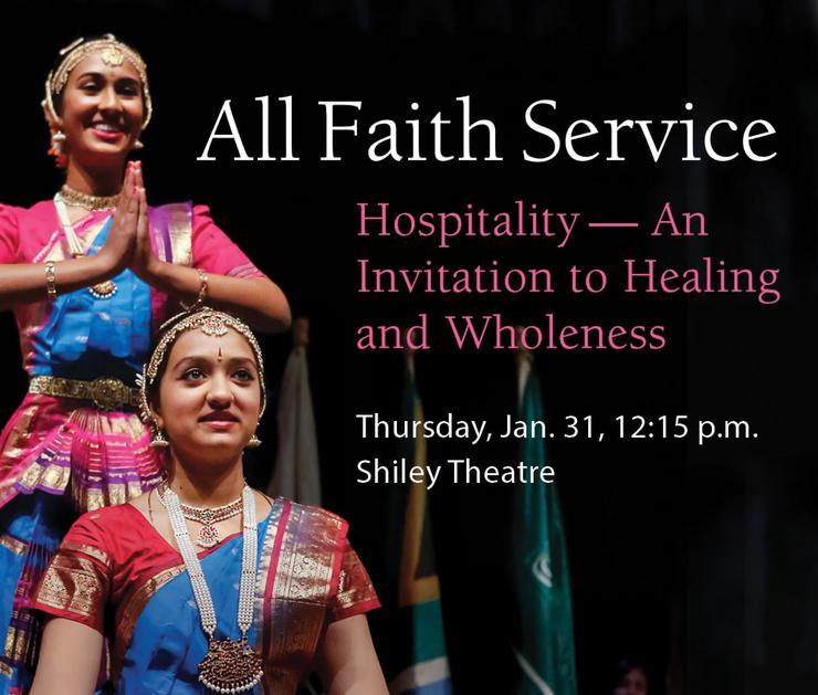 All Faith Service - Hospitality - An Invitation to Healing and Wholeness
