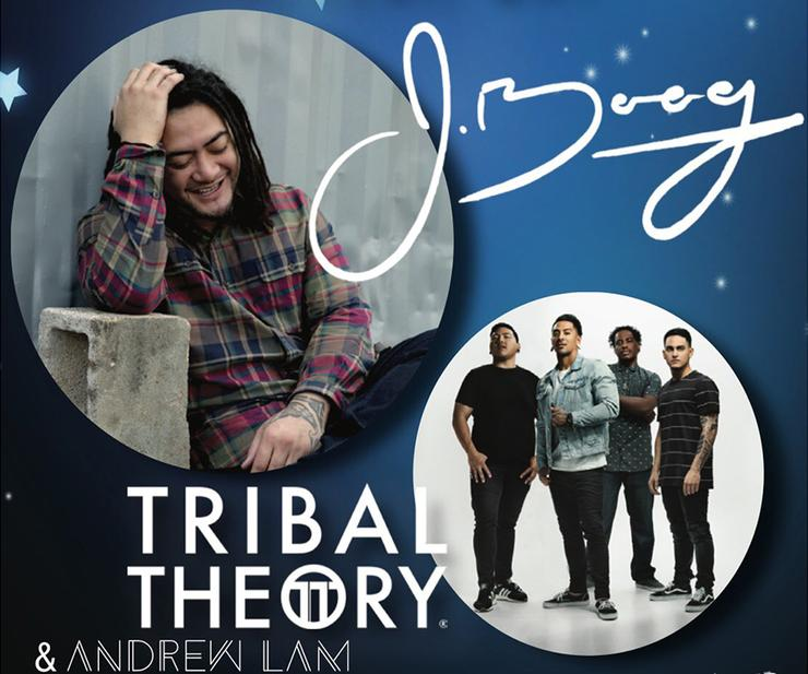 Big Blue Bash Concert will feature J Boog, Tribal Theory and Student DJ, Andrew Lam on the stage located on Torero Way in front of the Hahn University Center.
